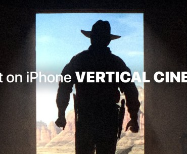 iPhone Vertical Cinema