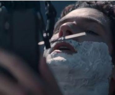 EE Tom Ellis shave