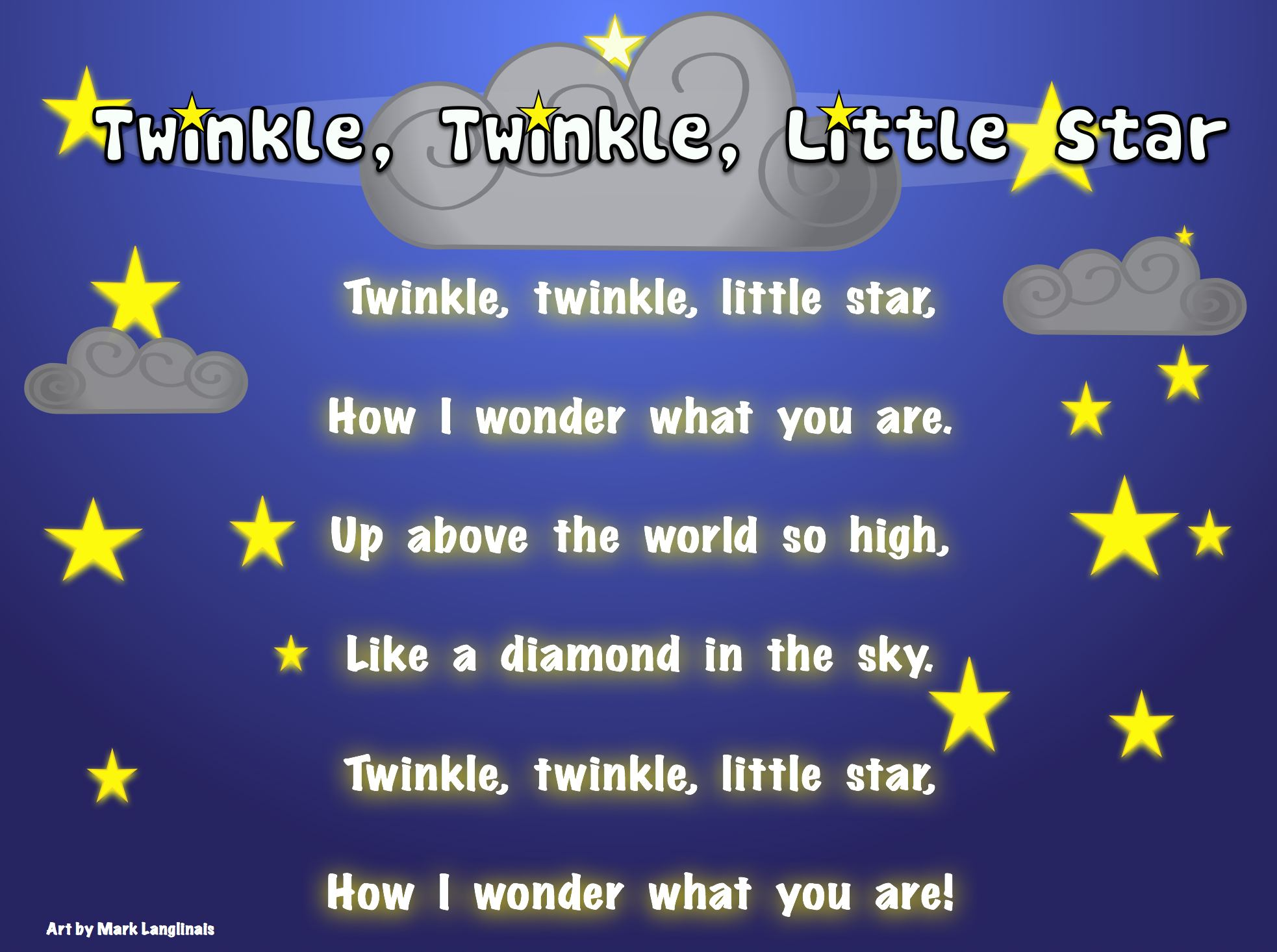Twinkle Twinkle Little Star Breakthrough Life Bhavanajagat
