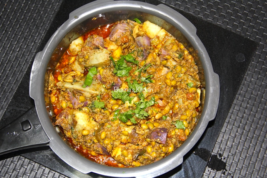 Surti Undhiyu - Seasonal Mixed Vegetables