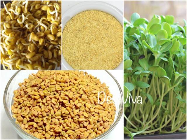 Fenugreek water aids in losing weight and improves digestion