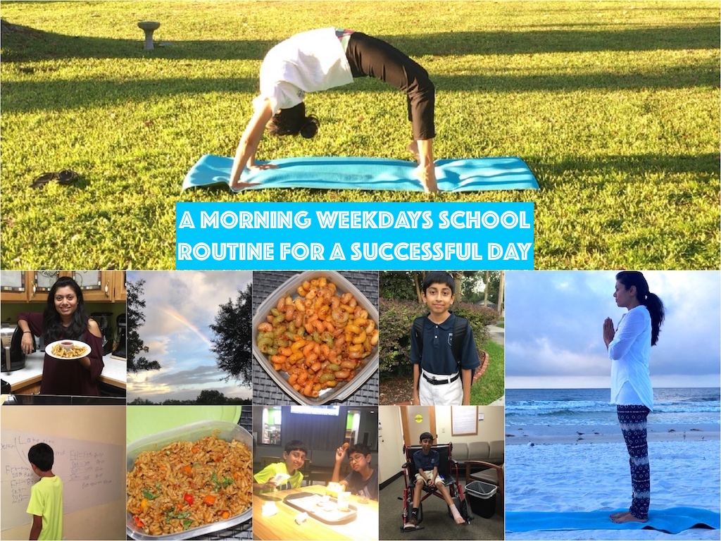 School Weekdays Morning Routine Tips