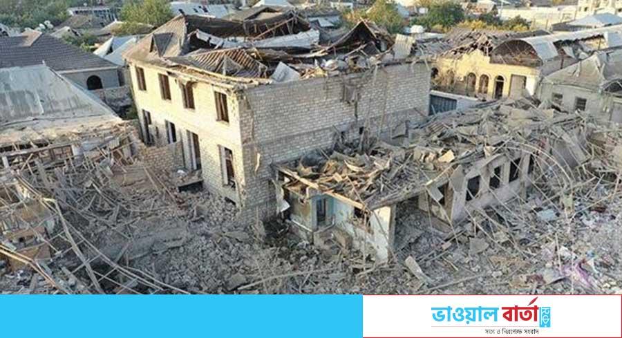 আবাসিক এলাকায় ব্যাপক হামলা চালাচ্ছে আর্মেনিয়া: আজারবাইজান