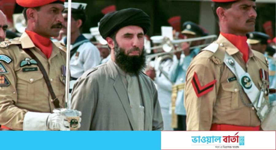 পাকিস্তান সফরে সাবেক মুজাহিদ নেতা ও আফগান প্রধানমন্ত্রী গুলবুদ্দিন হেকমতিয়ার