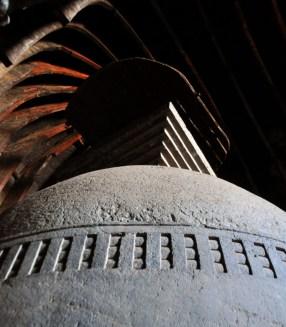 The stone stupa