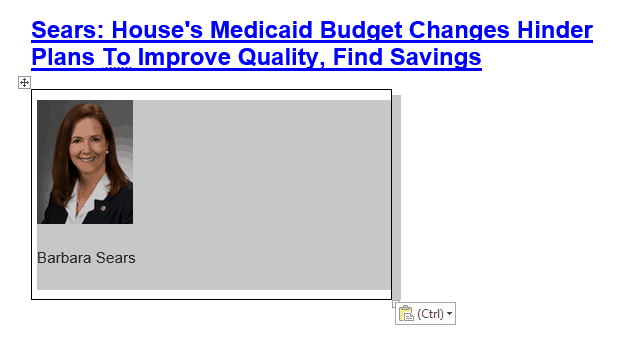 Medicaid Budget changes hinder plans