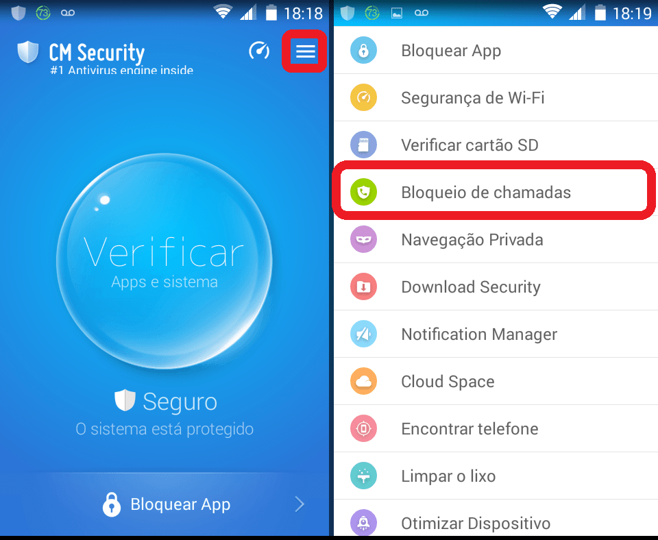 Como rastrear o celular pelo cm security