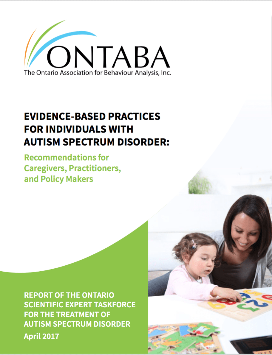 Evidence-Based Practices for Individuals with Autism Spectrum Disorder