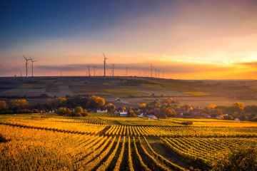 Brighton Hove Energy Services - BHESCo - Wind Turbines Countryside