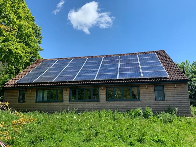 Energy Saving Business Organisation - Renewable Energy Solar PV - Case Study School