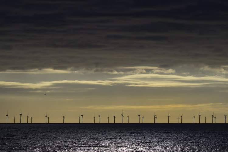why we dont need nuclear power - rampion wind farm - brighton hove sussex