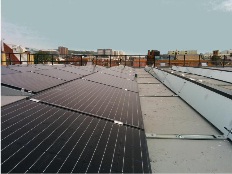 Rooftop solar pv - central brighton business - bhesco community energy projects