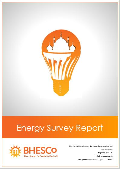 BHESCo Energy Survey Cover