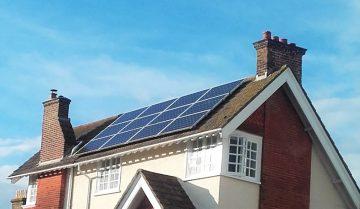Rooftops solar PV in Brighton