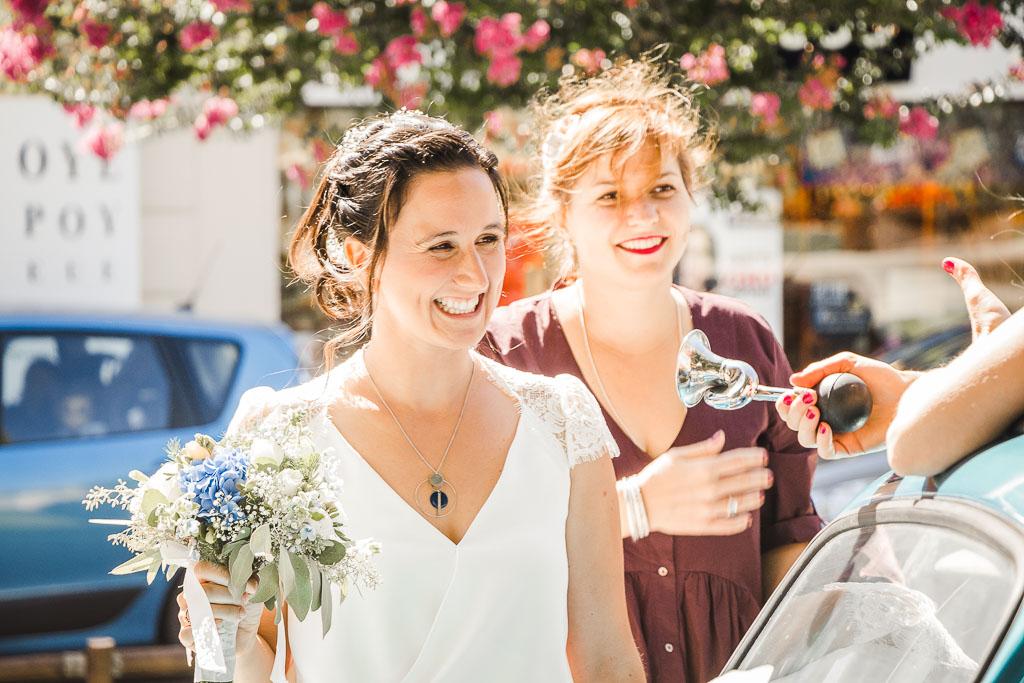 Photographe Mariage, Sortie de la cérémonie civile