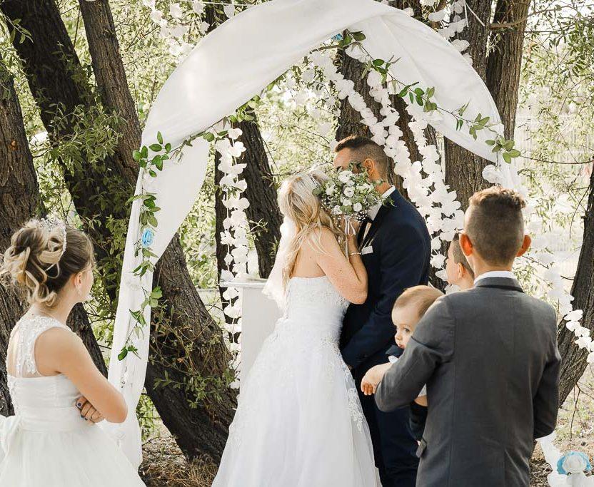 Cérémonie laïque pour un mariage à Tain l'Hermitage. Par Bhf Photographe de Mariage basé à Valence