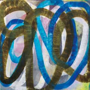 Lot 11 - Ildiko Kovacs, Back and Forth, 2012, est. $24,000-32,000. The long and winding Road