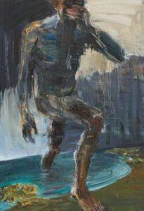 Lot 101 - Euan MacLeod, Study, Speak no Evil, 2006, est. $9,000-16,000. And I see no evil here