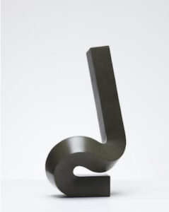Lot 22 - Clement Meadmore, Start Up, 1999, est. $12,000-18,000. We all need more Meadmore