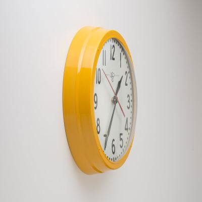 schoolhouse-electric-clock-industrial-yellow