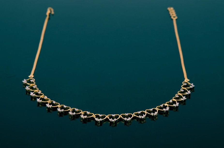 Diamond Necklace Bhima Jewellers