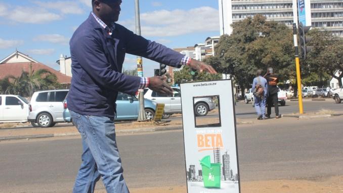 Engineers Design Underground Bins for Zimbabwe