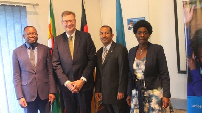 German Injects 15 Million Euro Into Zimbabwe's Education