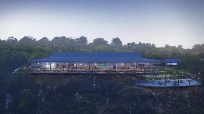 Victoria Falls' Lookout Cafe Postpones Reopening