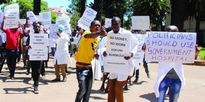 Nurses Plot A Strike Against Government