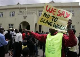 Government-Workers At Stand Still Over Today's Demonstrations