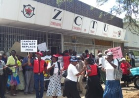 ZCTU Threatens An Industrial Action Against Wages
