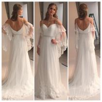 Plus Size Hippie Wedding Dresses regarding ucwords] - Beach Wedding Dress