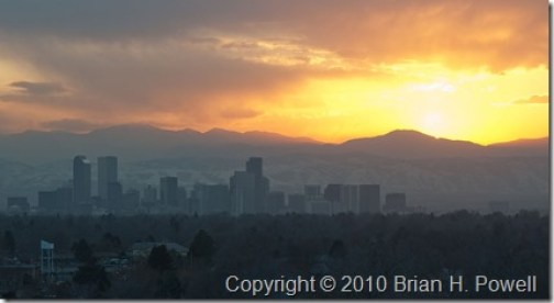 Denver_Sunset