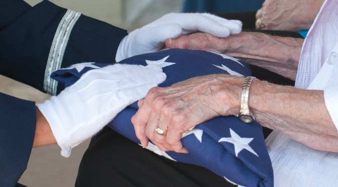 Military Funeral at Fort Sam