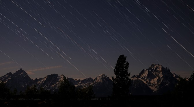 A Final Night and Morning in the Grand Tetons