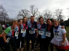 BHR team at the Greenwich 10k 2014