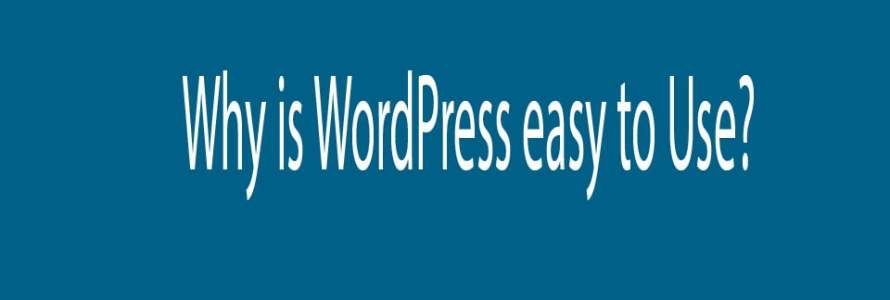Why is WordPress easy to Use?