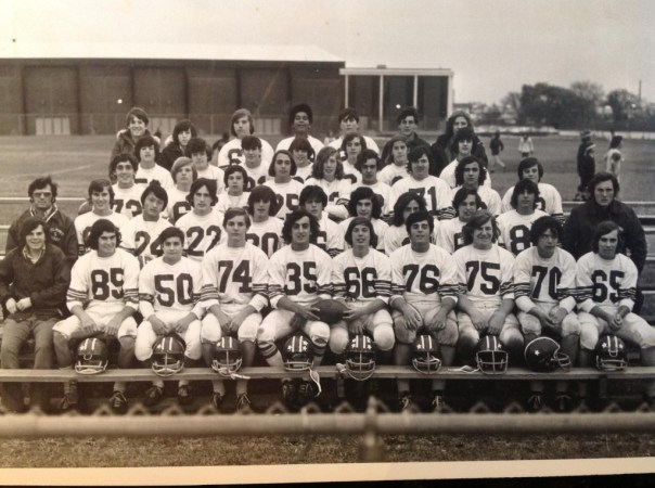BHS 1977 Freshman Football Team