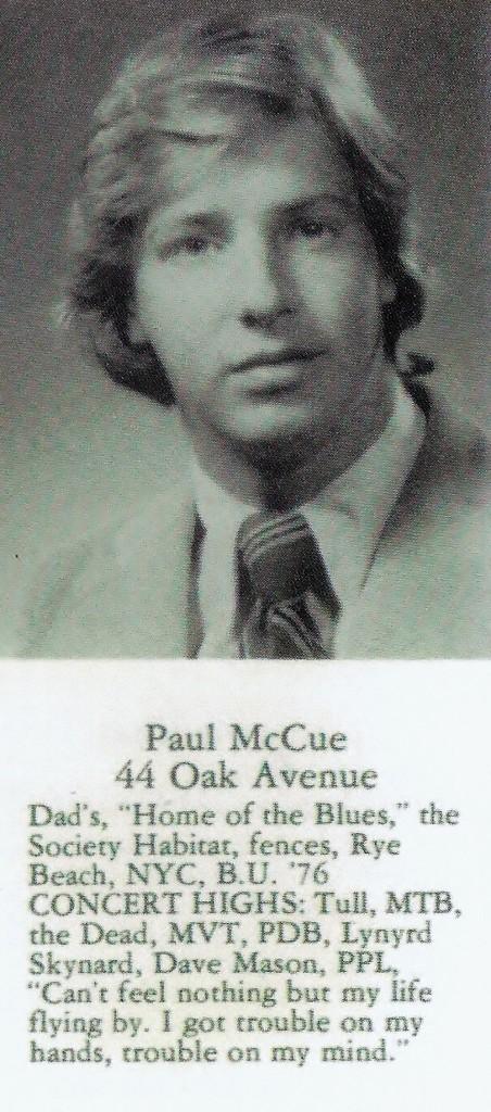 Paul McCue