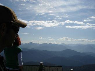 Blick in die Berge, Lenggries