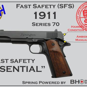 Essential Fast Safety (SFS V2.0) for 1911s Series 70