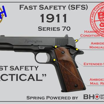 Tactical Fast Safety (SFS V2.0) for 1911s Series 70
