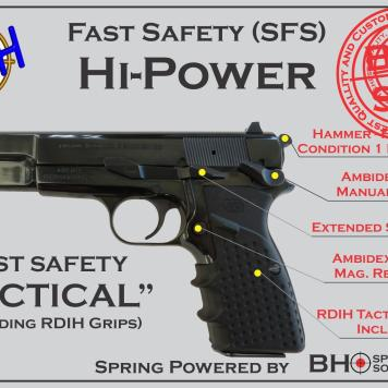 "Fast Safety (SFS v2.0) ""Ultimate""+""Upgraded Personal Defense Package"" for Hi-Power"