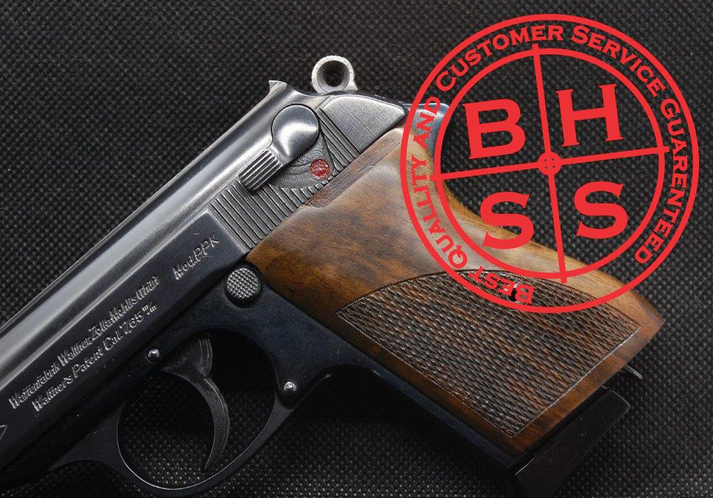 Walther PPK Checkered Grips