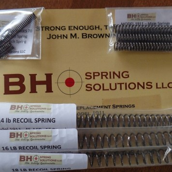 1911 Series70 Tune-Up and Optimization Spring Kit