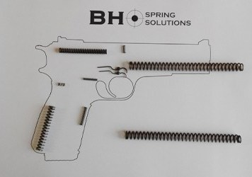 Classic Hi-Power Spring Kit (Shooter's Pack)