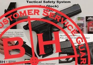 Unintended Firearms Discharge - Stopped! Tactical Safety System for Glock by RDIH