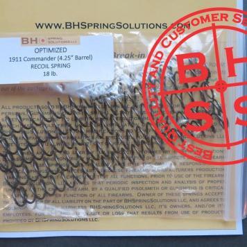 """4.25"""" 1911 Recoil Springs Kit  5-Pack  18lb."""