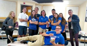 Members of the Burlington High School Scholars Bowl team pose for a photo after a competition this season. The team hopes to compete at the national championships in Atlanta. | Photo: Courtesy