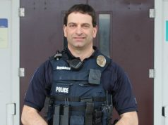 Brian Difranco has been a school resource officer in Burlington schools for the last decade. | Photo: Alexandre Silberman/Register